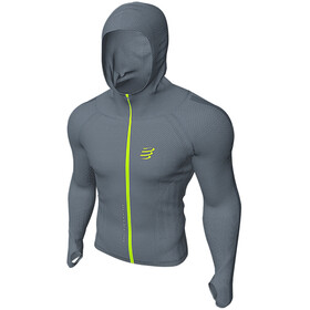 Compressport 3D Thermo Seamless Zip Hoodie Born To SwimBikeRun 2020 Men grey